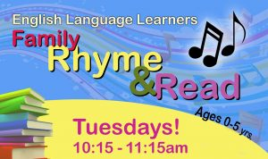 ELL Family Rhyme & Read Website